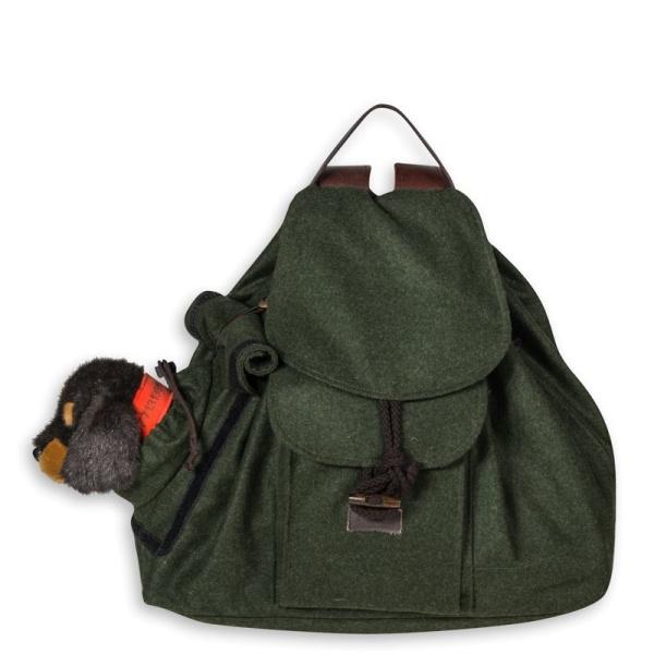 Hunde-Rucksack aus Loden