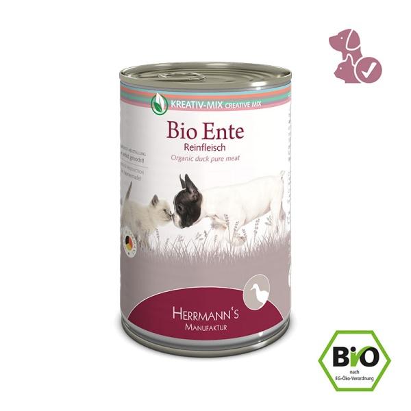 Pures Bio-Fleisch in der Dose - 400g